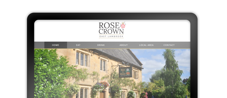 Rose & Crown East Lambrook website